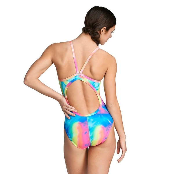 SAVE 20%<BR/>Speedo KEYHOLE BACK<BR/>One Piece Print